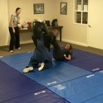 Impact student using full-force physical techniques