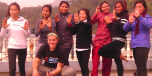 Impact Instructor Sandra Carter in Nepal